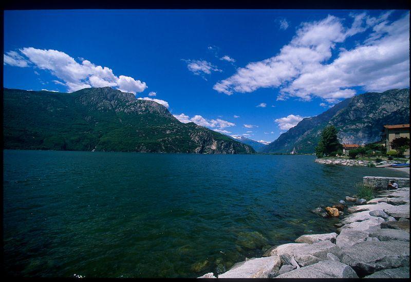 Small lake, just north of Lago di Como