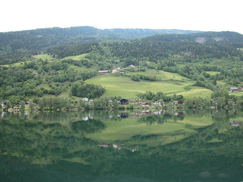 Austrian town of Feld am See