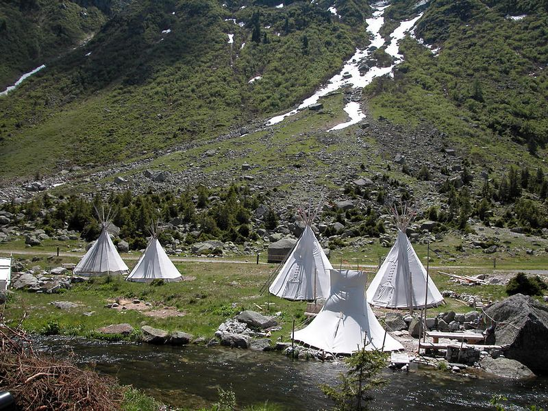 Native Swiss campers.