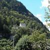 Castle ruins in Rattenberg, Austria