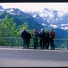 The group on the Klausen Pass