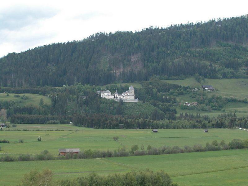 Moosheim Castle near Pichlern, Austria