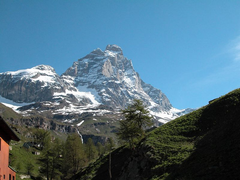 Monte Cervinia - the south side of the Matterhorn