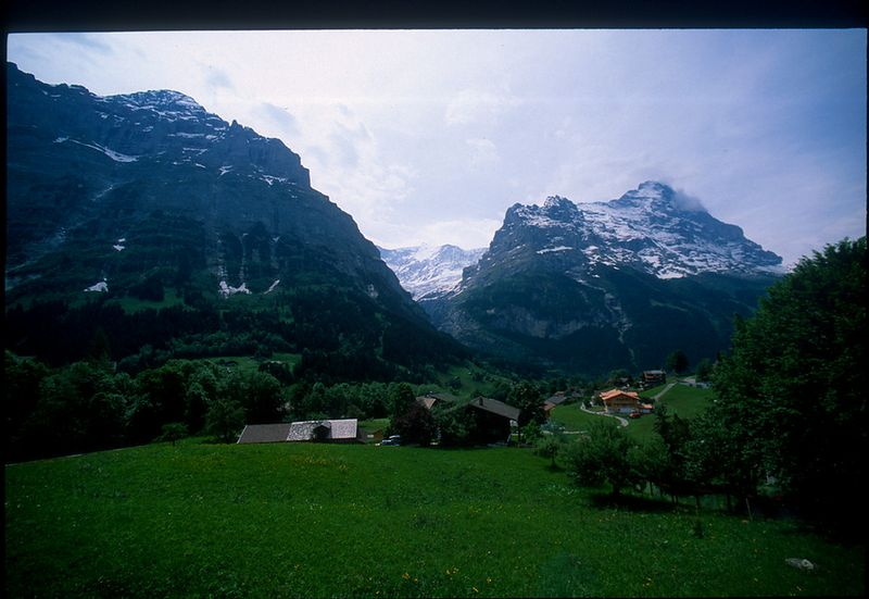 Swiss countryside - somewhere in Valais