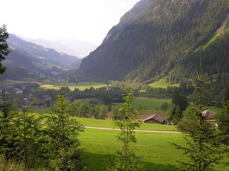 Austria, Molltal (climbing towards Grossglockner
