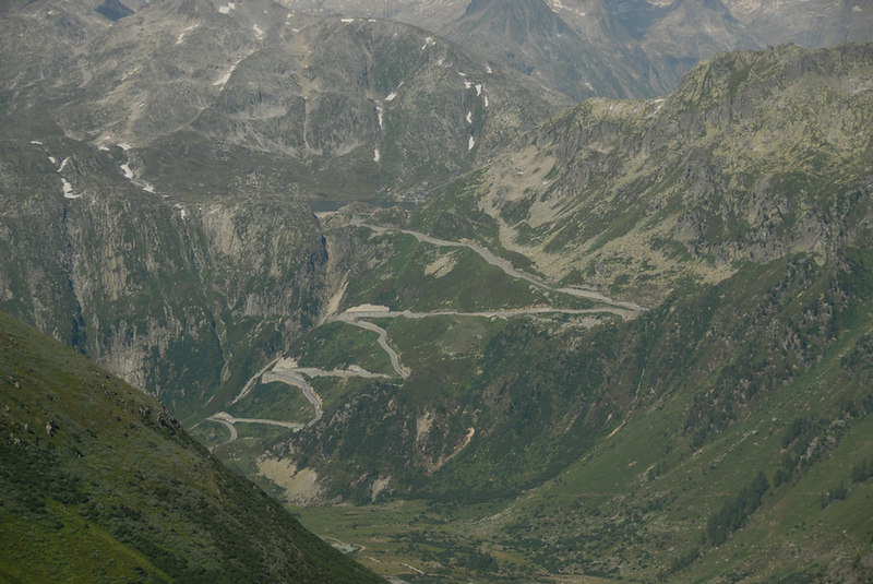 Switzerland - Grimselpass from the Furkapass