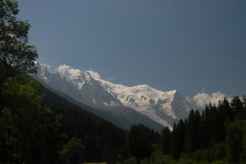 France - Mont Blanc, north of Chamonix