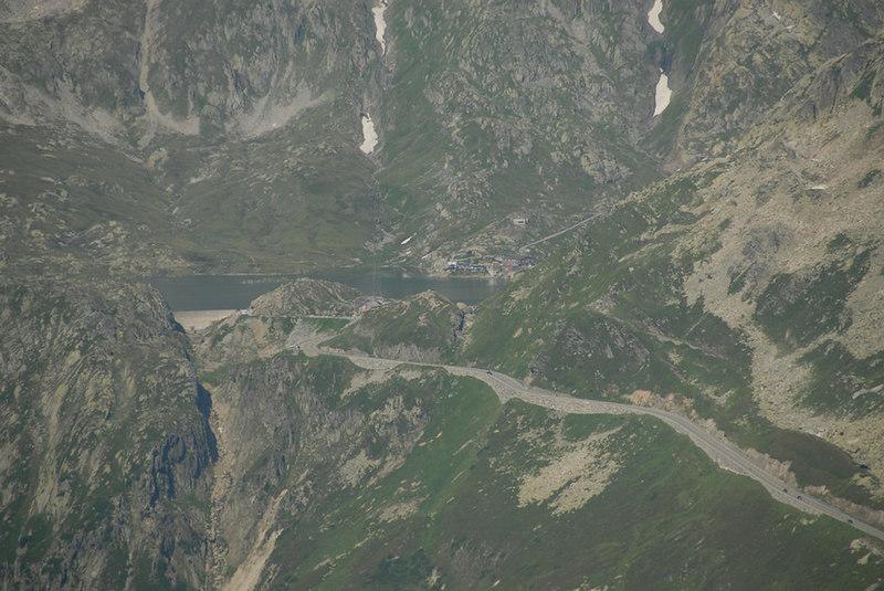 Switzerland - Grimselpass from the Furkapass