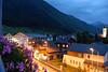 Andermatt Switzerland - view from Hotel Monopol balcony