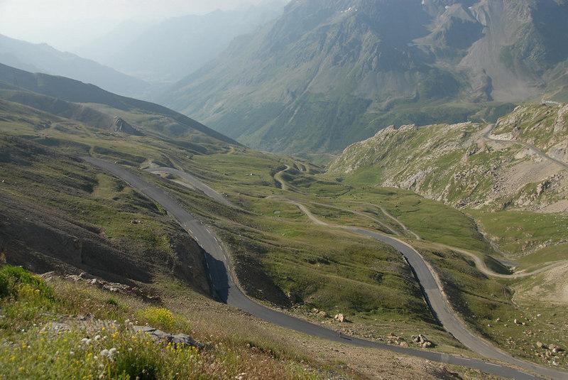 France - Climbing to La Bonnette