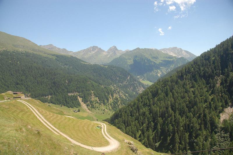 Italy - Climbing Passo Rombo (Timmelsjoch)