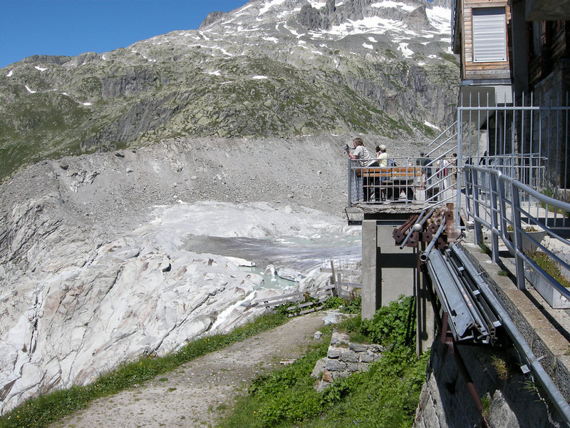 Rhone Glacier