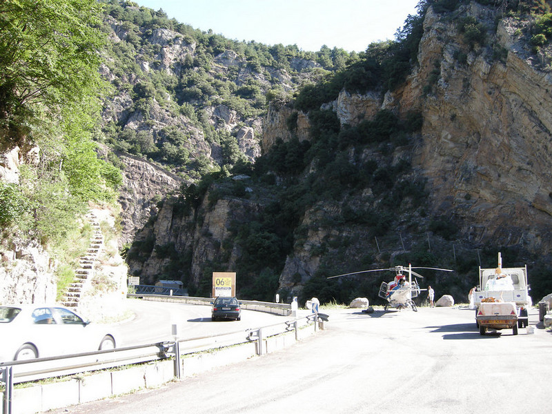 On the way to Tende