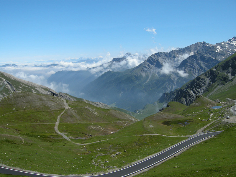 Italy, from Col Agnel