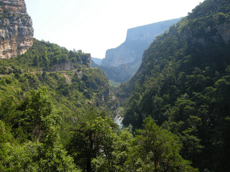 Grand Canyon du Verdon - north rim