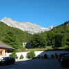 View from Hotel Europa in Bardonecchia