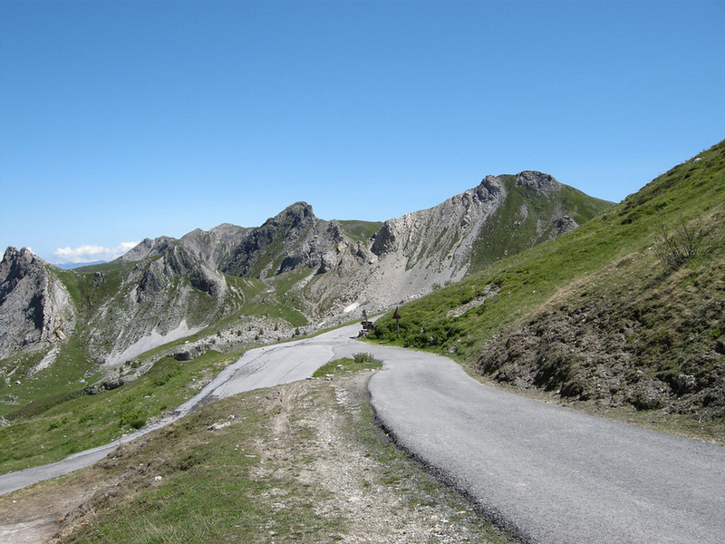 Colle Esischie - looking south