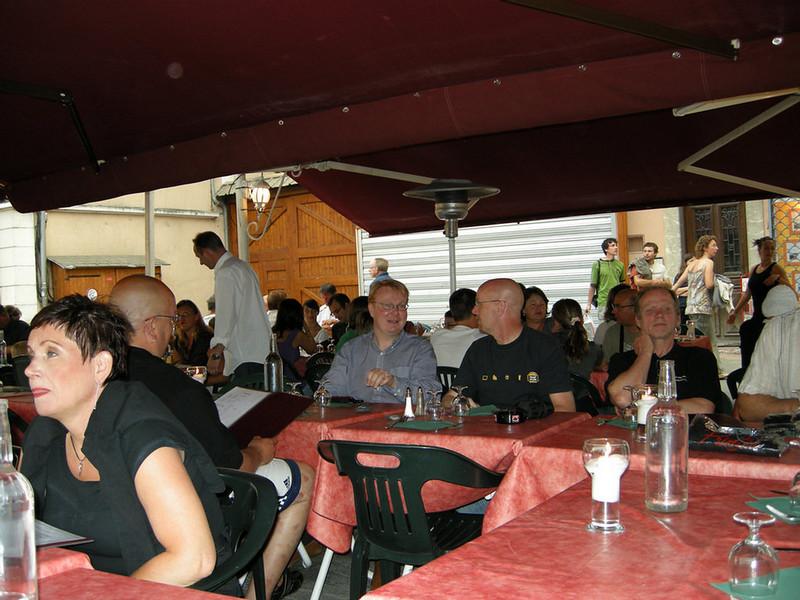 Alpine Roads 2008<br /> Barcelonnette - Place de Manuel