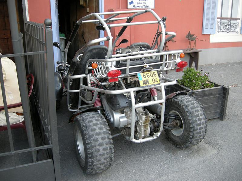 Neat 4-wheeler at Barcelonnette