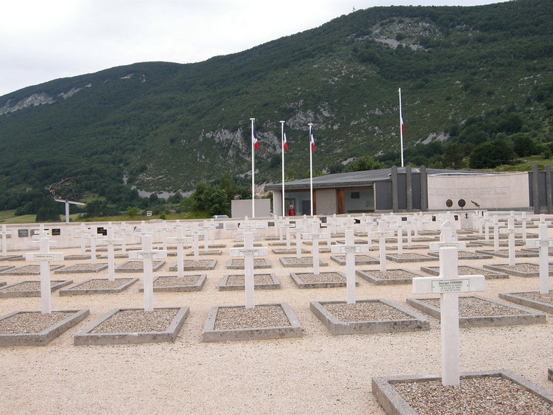 Resistance memorial at Vercours