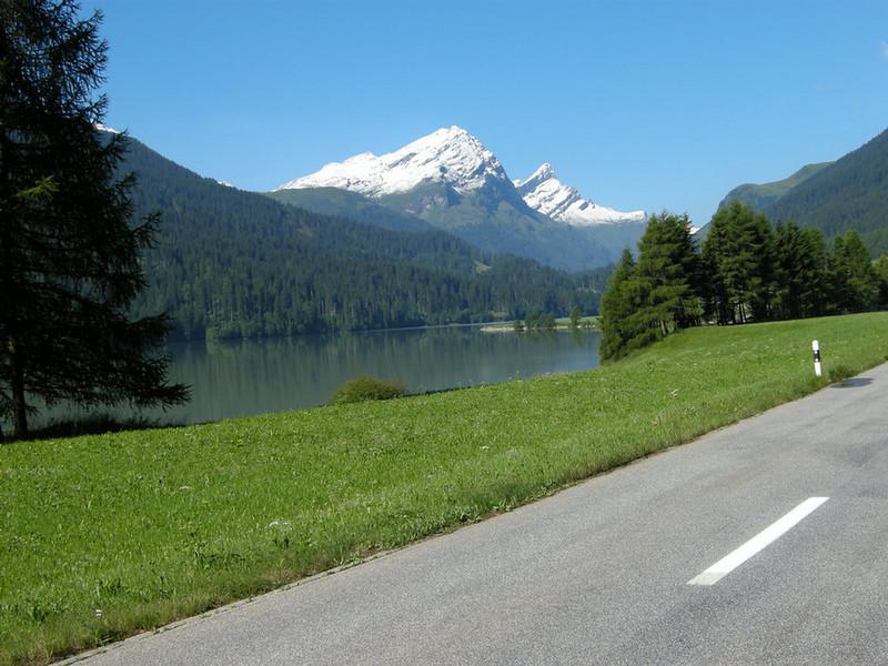 Lake near Sufers, Switzerland