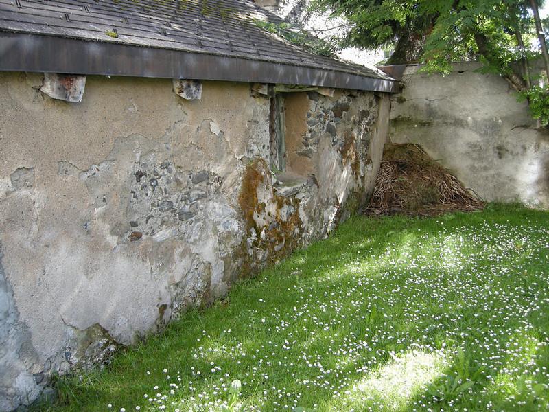 Back yard in Andermatt