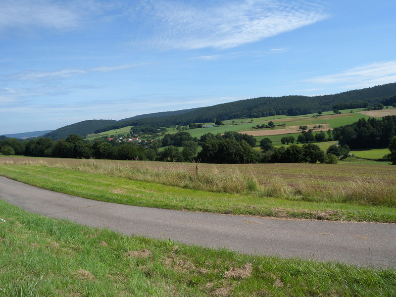 just a nice view in the Odenwald east of Heidelberg
