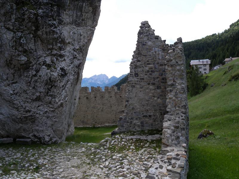 Castel Andraz - 11th century. West of Falzarego.