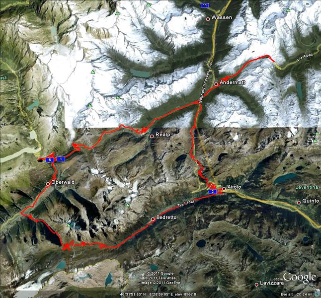 Riding day 2: around Andermatt