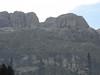 The Pordoi massif from the Evaldo