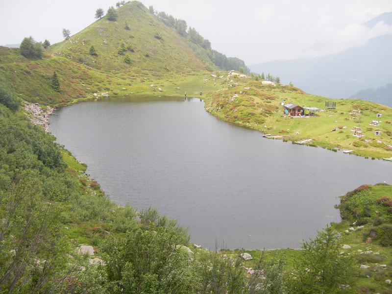 Laghetto di Lavena - Tre Valli road