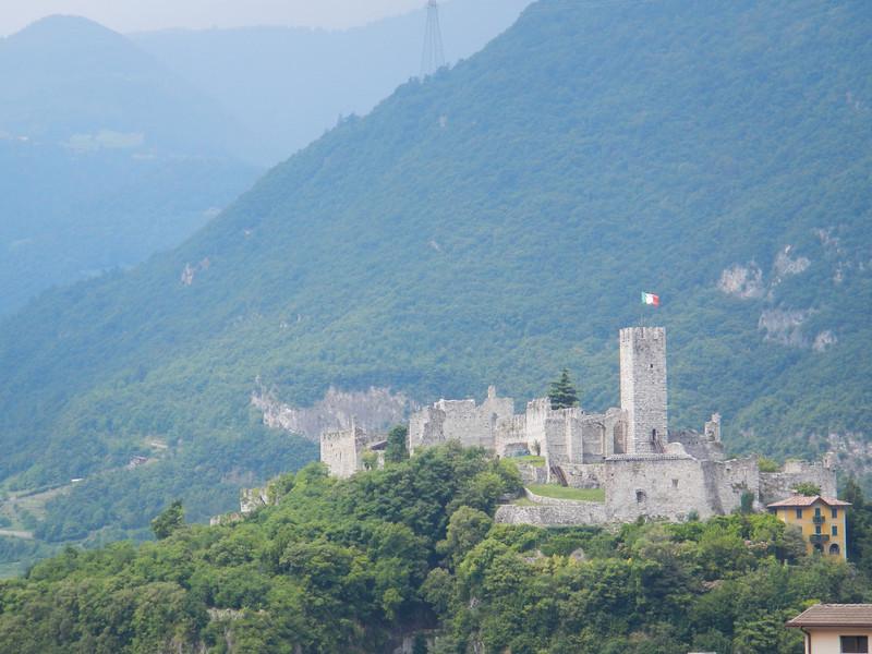 Castle in Breno