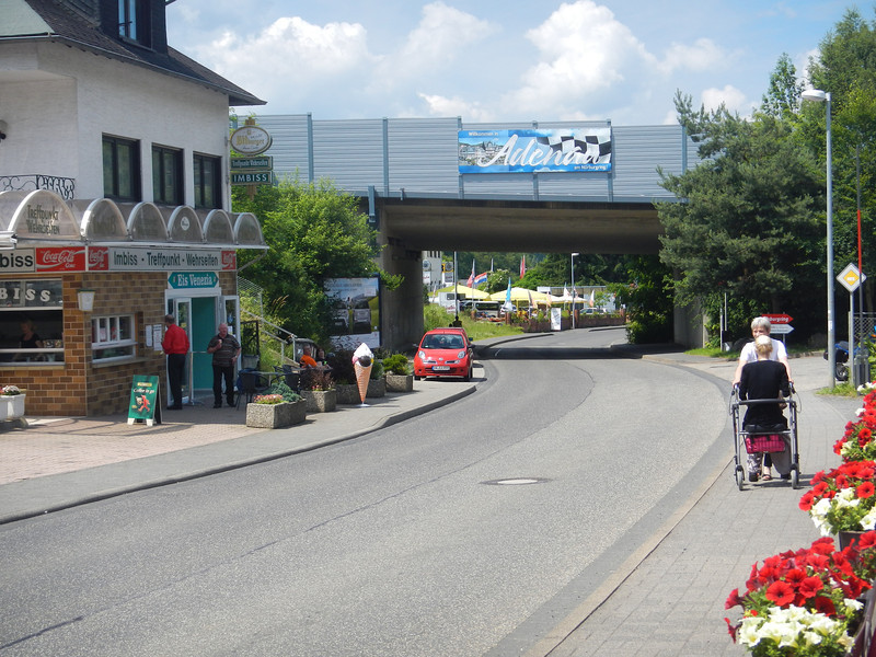 The lowest point of the Nordschleife