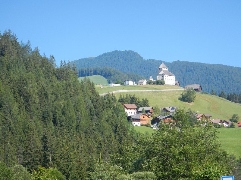 Near the road for the Wurzjoch