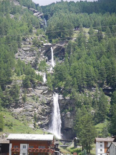Saas Balen waterfall