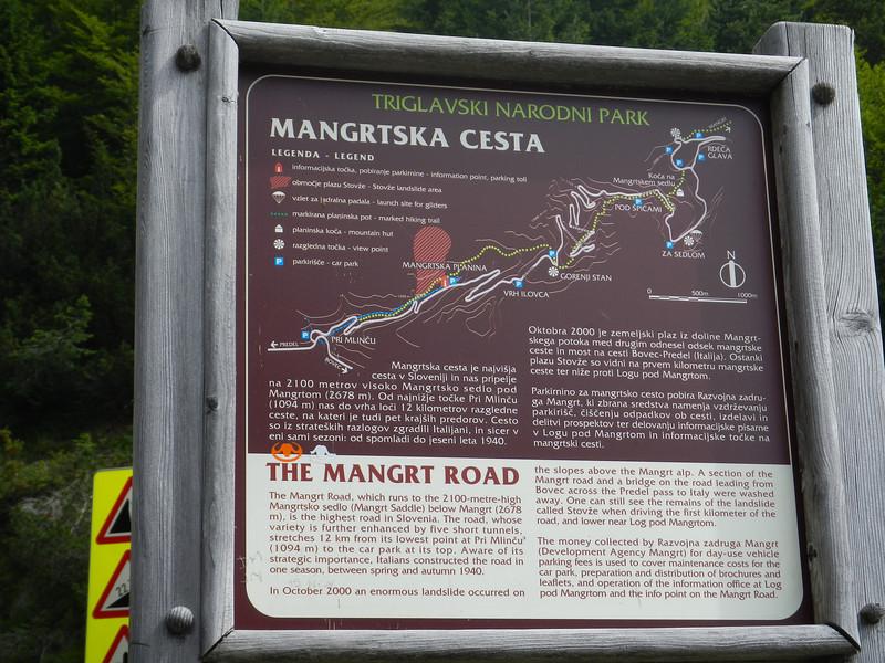 Mangart Road, Slovenia