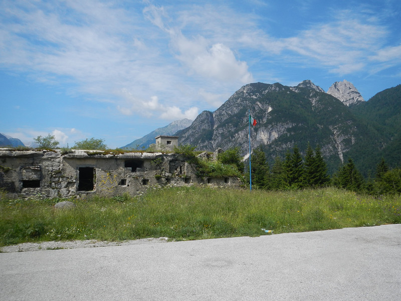 Old fort on Italian side of Predil Pass