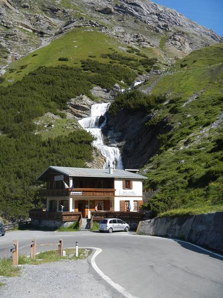 Waterfall on the Stelvio