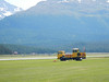 Glider winch truck at Engadin airfield