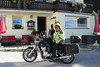 Leaving Pension Haus Maria in Ramsau. Last day on bike after 19+ years.