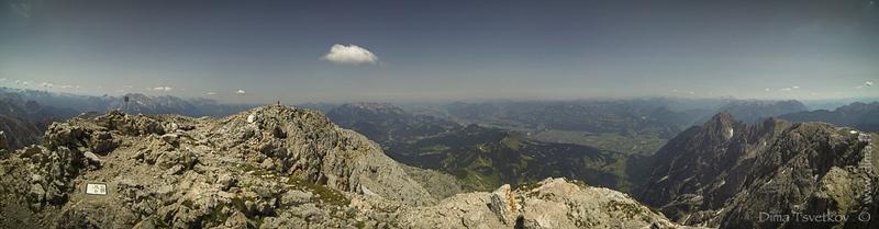 Hoher Göll panorama
