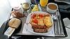 Breakfast at 36,000 feet