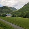 On the Col du Glandon road