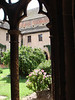 The cloister at the Unterlinden Museum in Colmar, Alsace, France.
