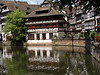 """The most photographed building in Strasbourg,"" in Petite France district."