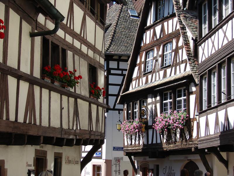 A street in Strasbourg.
