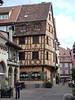 Street in Colmar, Alsace, France.