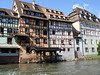 On the river Ill in Strasbourg, France.