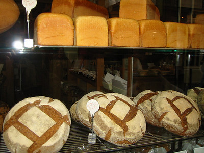 The round loaves are what they are famous for, among other goodies.