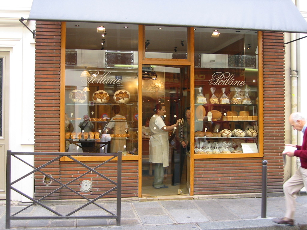 This is the facade of Poelaine. They have several shops throughout Paris.